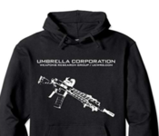 Two Sided Rifle Hoodie w/ Badge Back